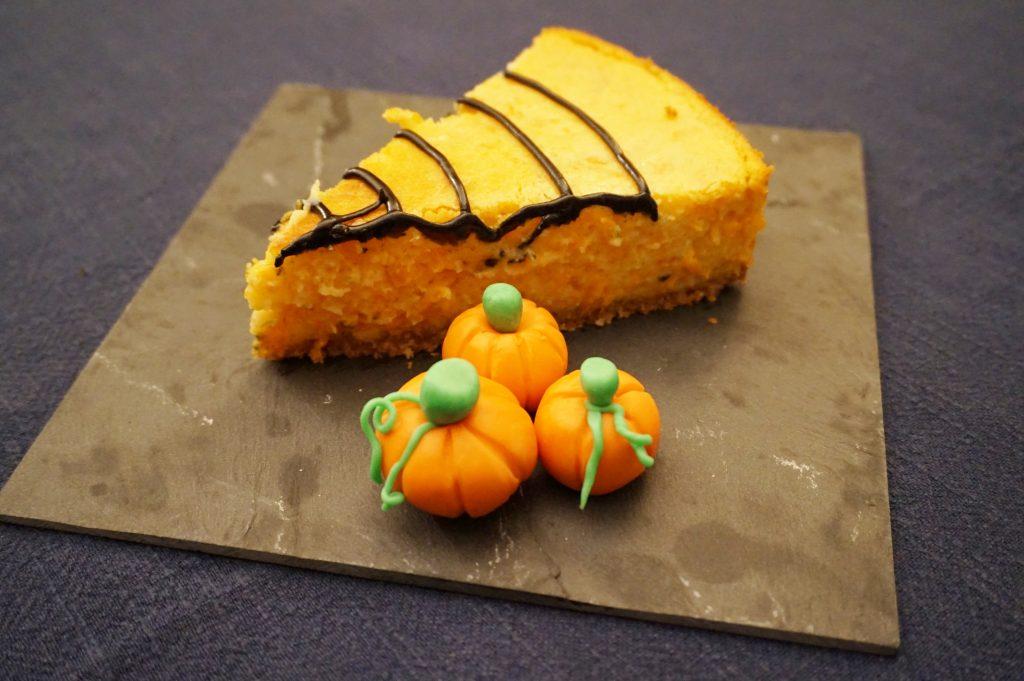 cheesecake di zucca