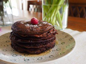 pancakes al cacao